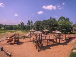 Flat rock playground