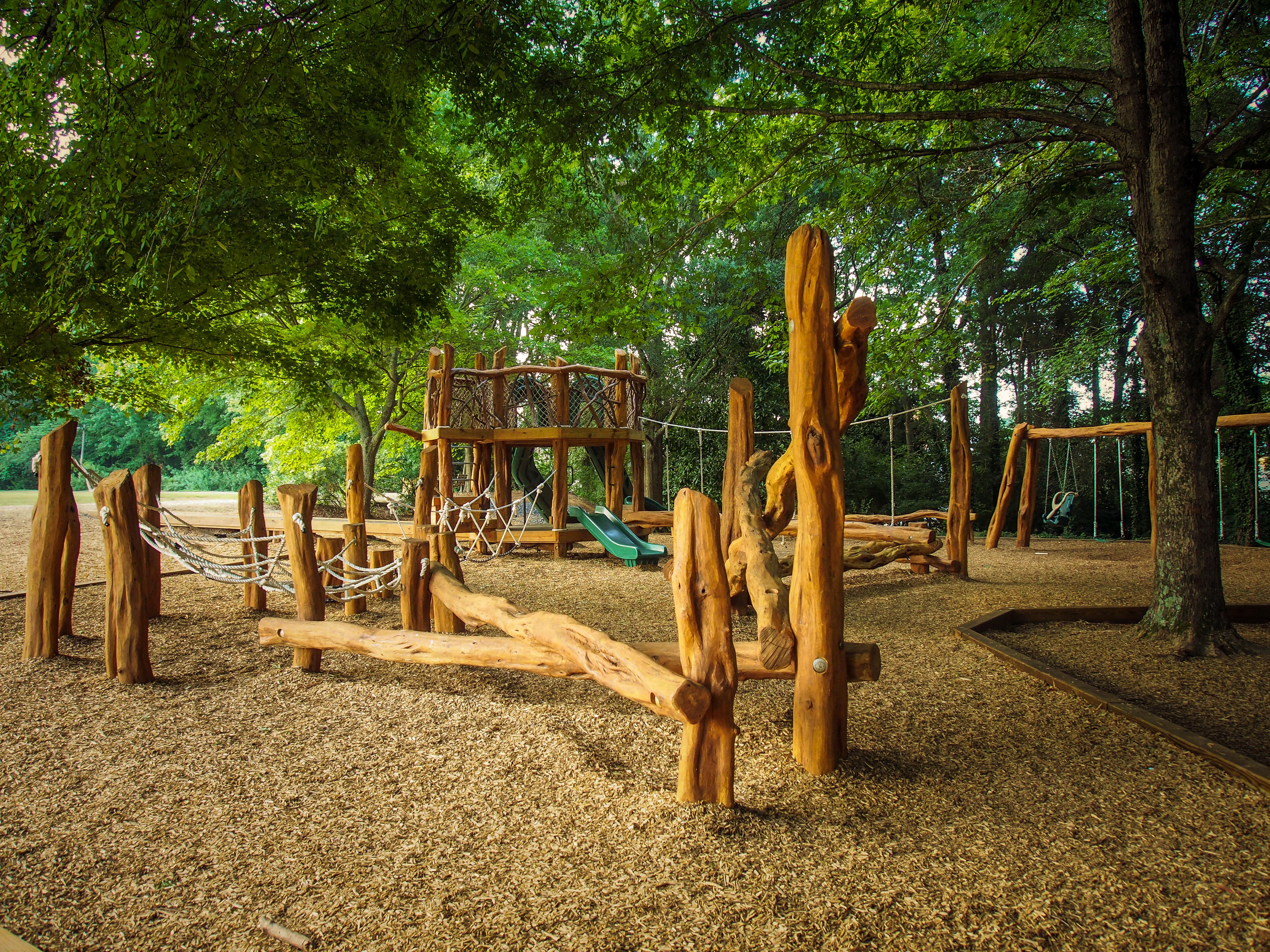 natural playground builder
