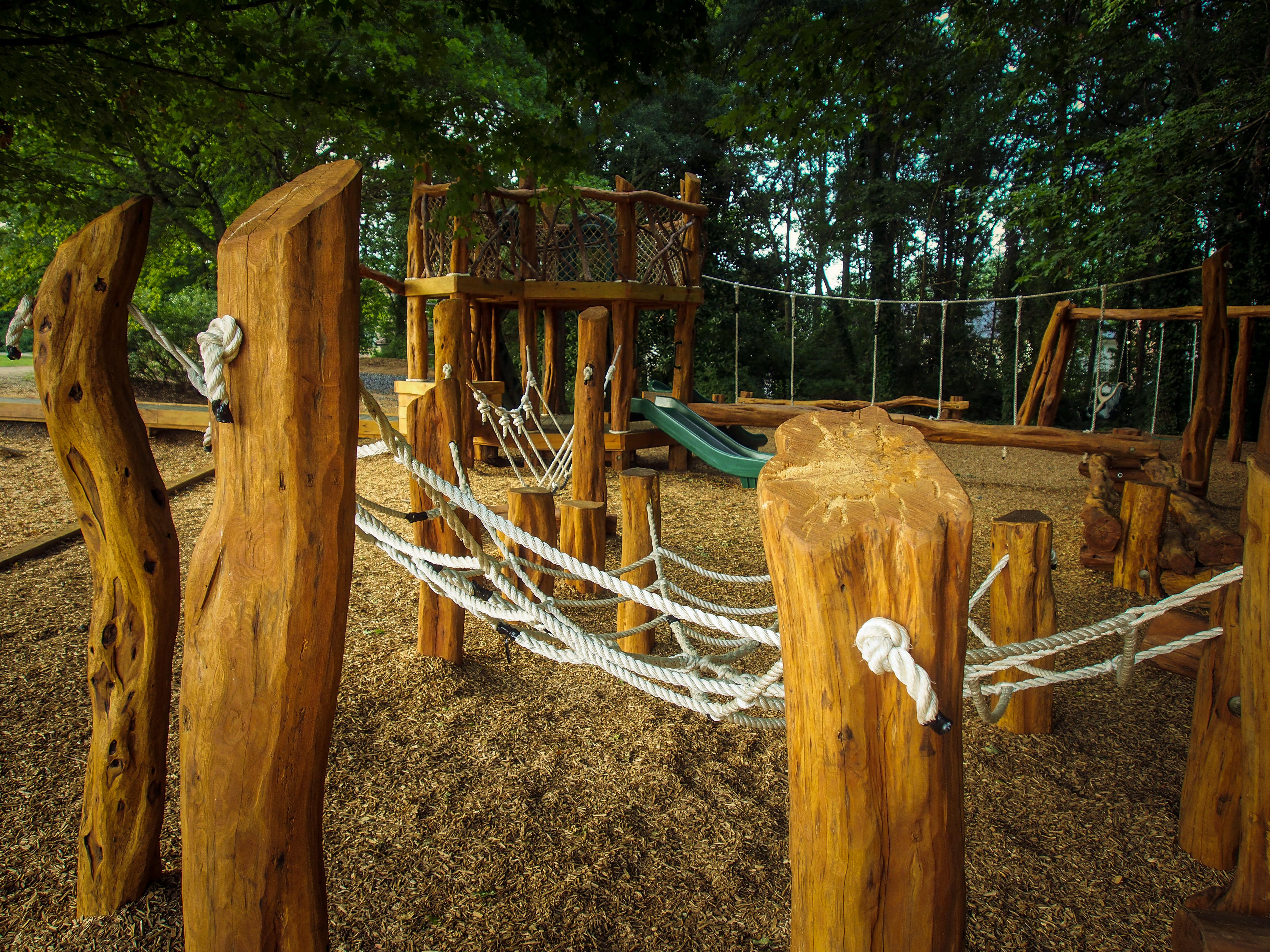 naturally beautiful playground