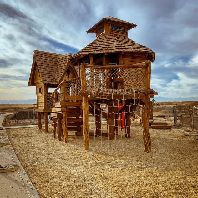 treehouse village playground