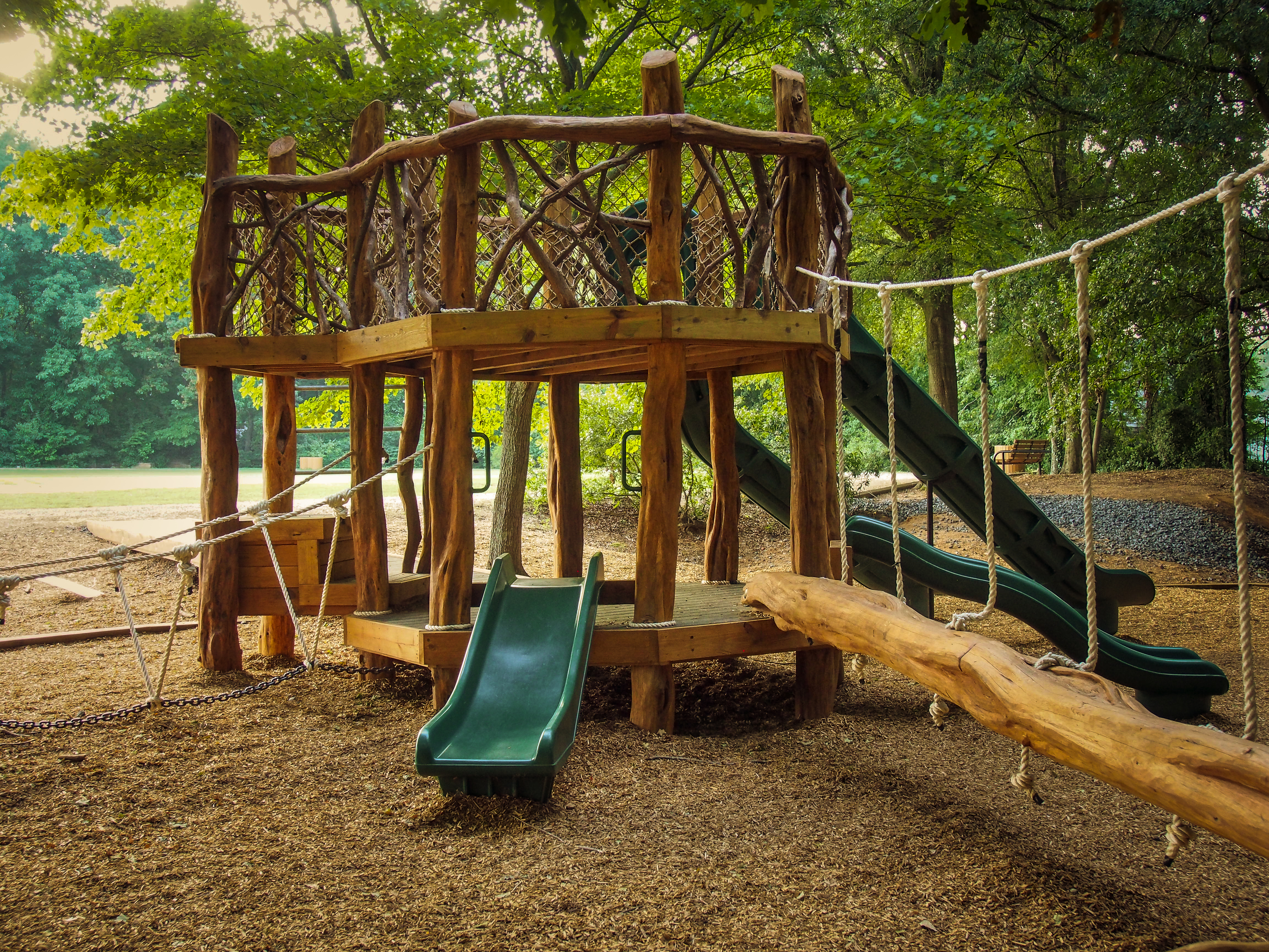 low ropes playground