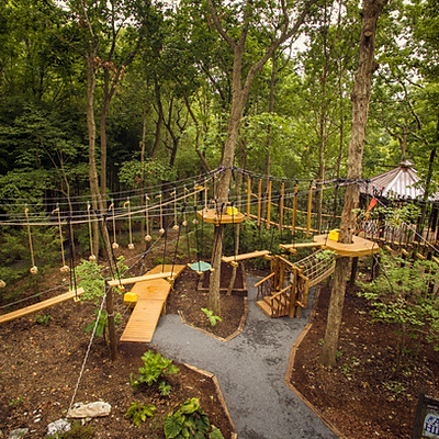 Air Hike   NC Zoo