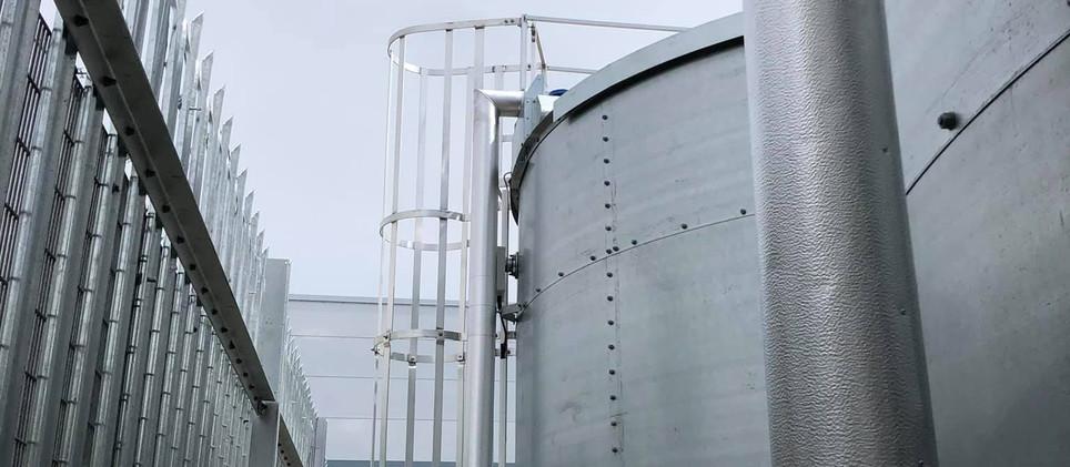 Paroc sections & stucco aluminium