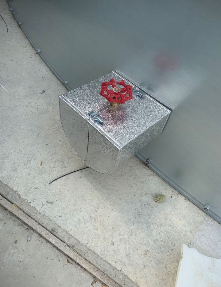Stucco aluminium box