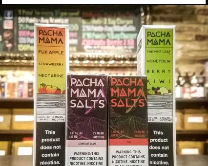 New Pachamama E-Liquids!