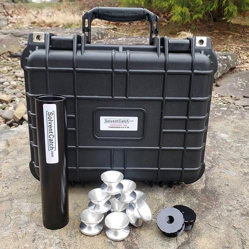 """Hercules Professional Solvent Trap Kit - Complete Kit - 8"""" x 1.75"""" ( D-CELL )"""