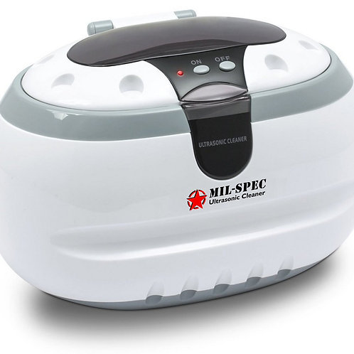 Mil-Spec Military Grade Portable Heated Ultrasonic Cleaner