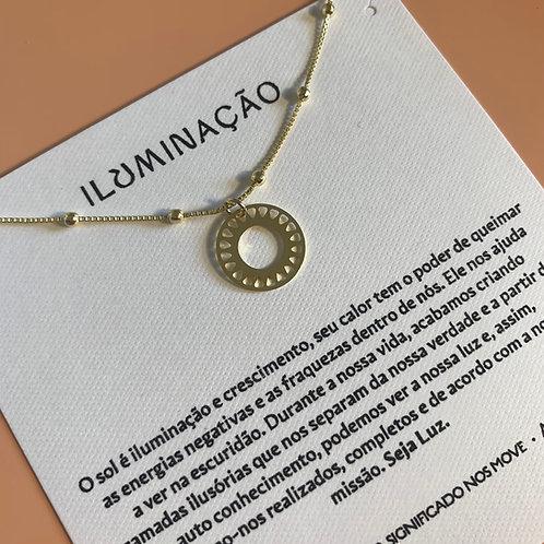 Medalinha 16mm - Luz