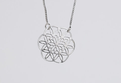 Medalinha 16mm  - Geometria Sagrada
