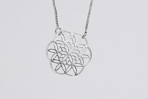 Medalinha 22mm - Geometria Sagrada
