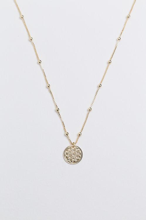 Medalinha 13mm - Geometria Sagrada