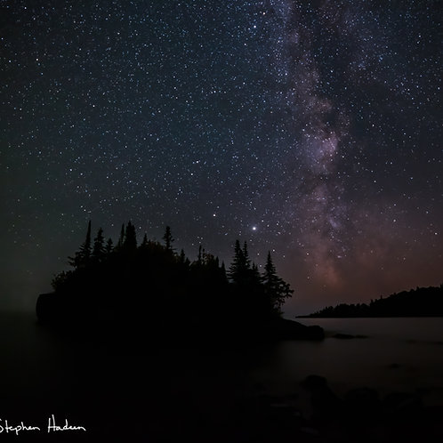 horseshoe bay milky way