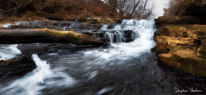 glen park waterfall