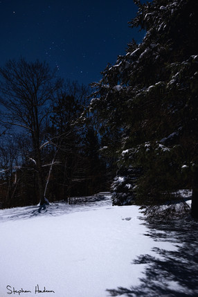 cold night at savanna portage state park