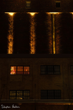 the lights of a-mill artist lofts