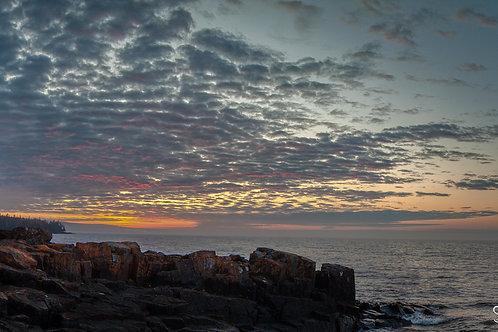 sunrise over horseshoe bay