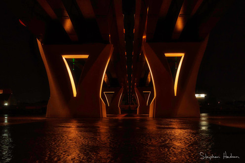 under hwy 52 bridge