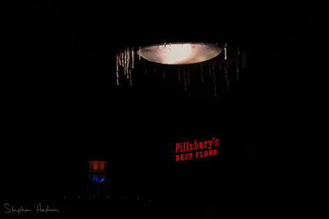icicles and pillsbury sign