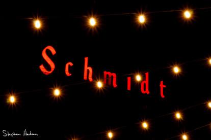 schmidt and tea lights