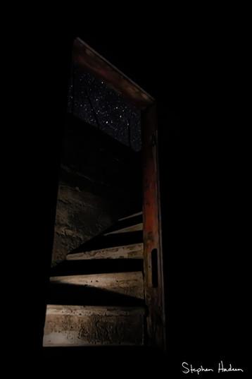 stairway to the stars - interior frank schott barn