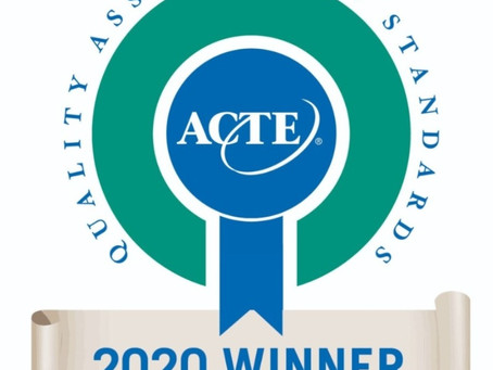 GACTE Wins Quality Association Award 2020