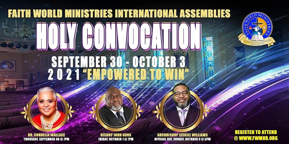 FWMIA Holy Convocation 2021