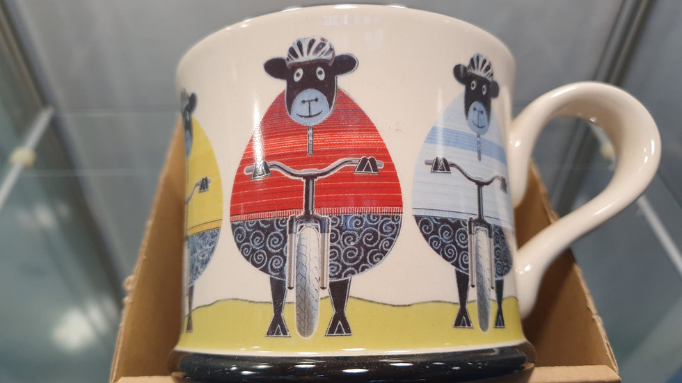 Moorland Pottery The Wooley Bikers