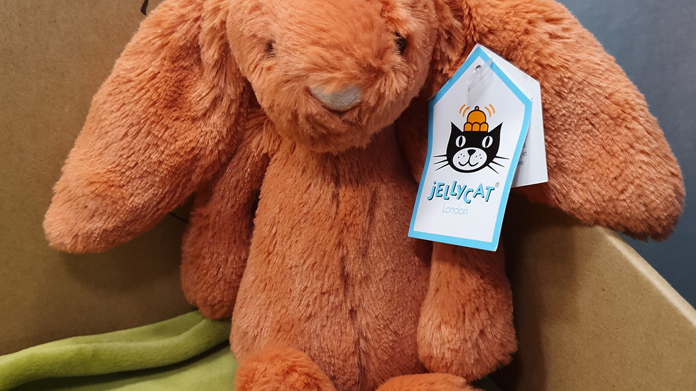Jellycat Bashful Cinnamon Bunny Small