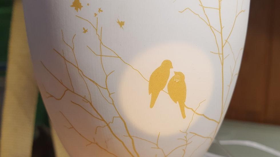 LightGlow Porcelain Votitve Love Birds Large