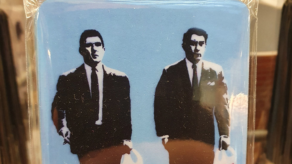 Banksy Wooden Magnet The Krays