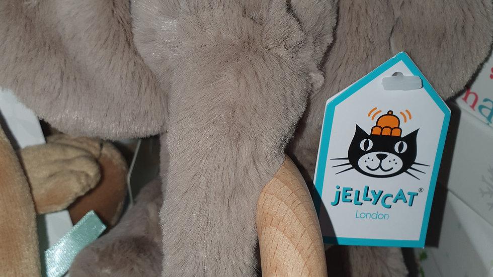 Jellycat Shooshu Elephant Teether