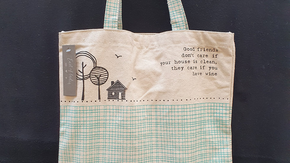 Tote Bag Good Friends Dont Care