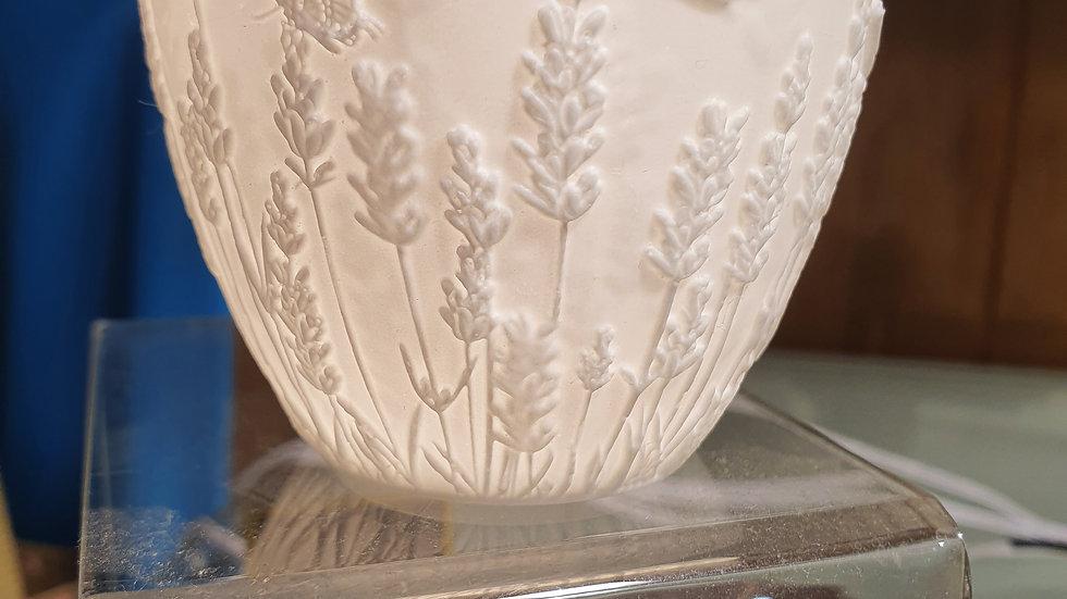 LightGlow Porcelain Votive Lavender
