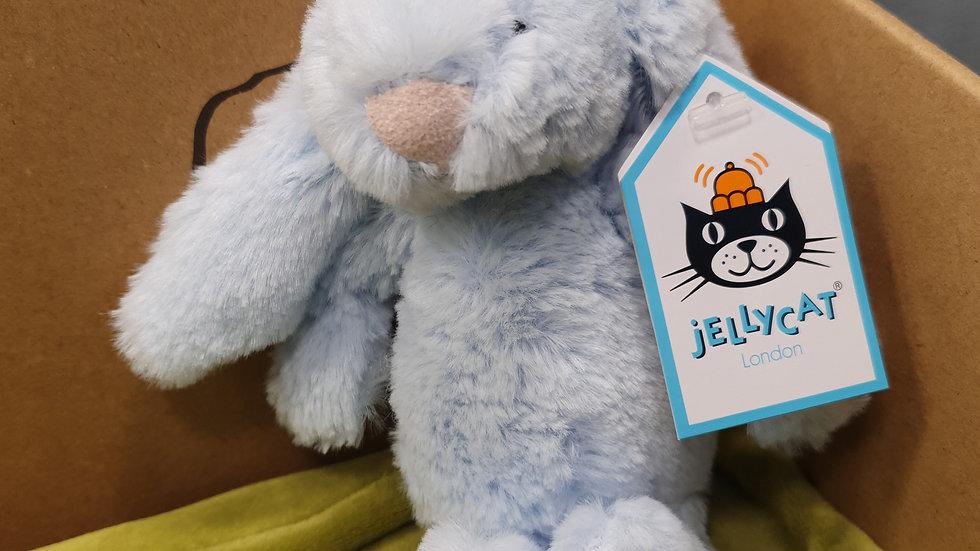Jellycat Bashful Blue Bunny Baby