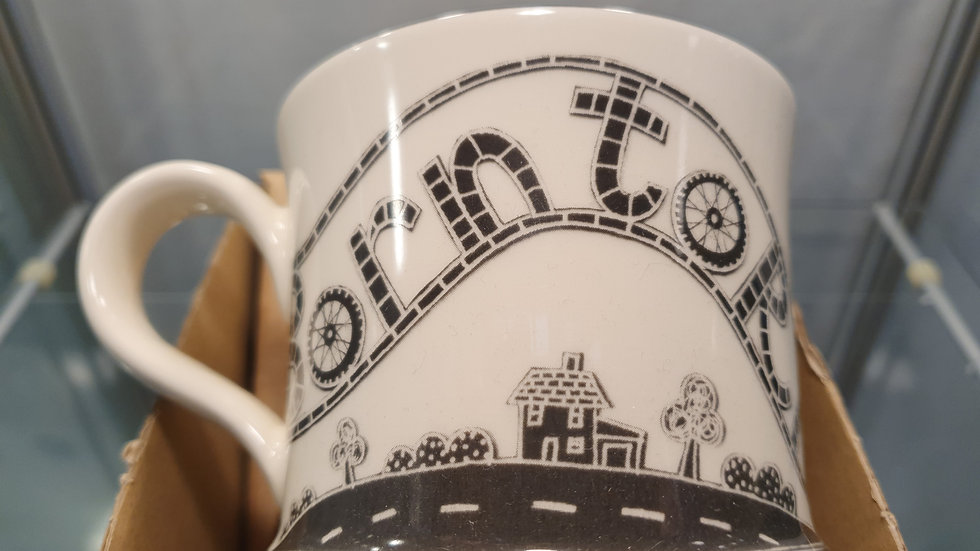 Moorland Pottery Born To Ride