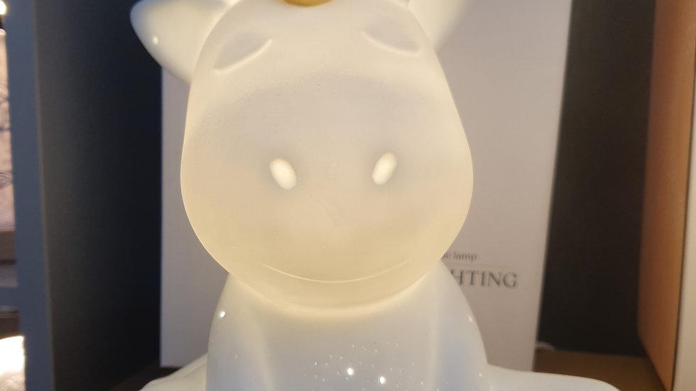 Unicorn Porcelain Table/Bedside lamp