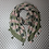 Thumbnail: Green and dusky pink Scarf