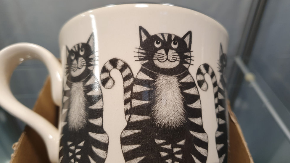 Moorland Pottery Cats