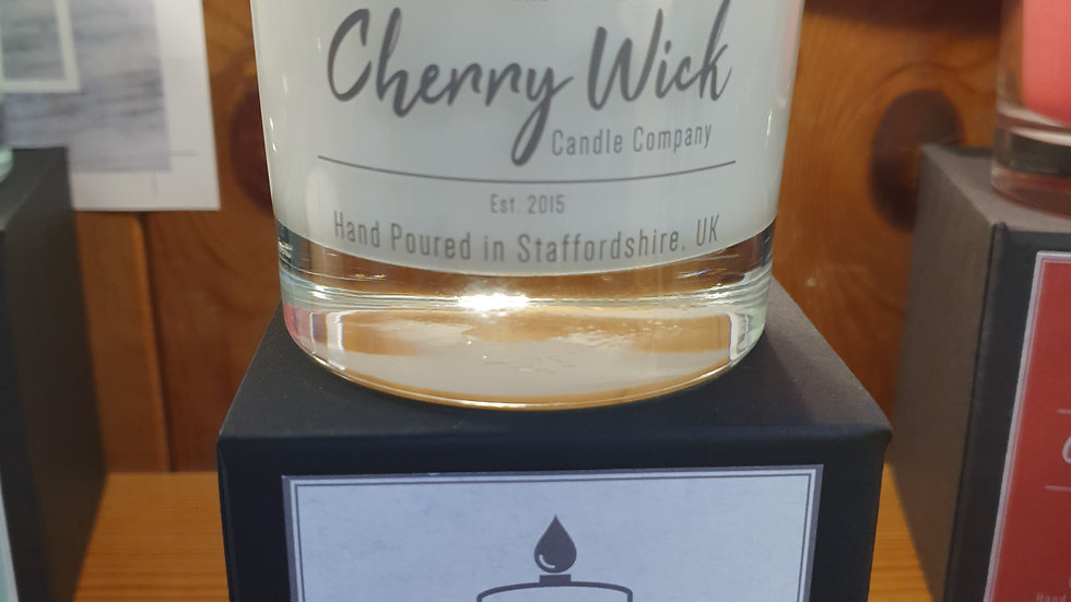 Cherry Wick Candle Coconut Cream 30cl
