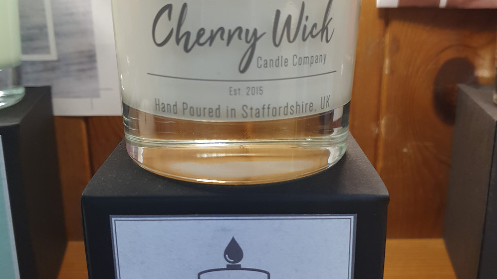 Cherry Wick Candle Jasmine and Patchouli
