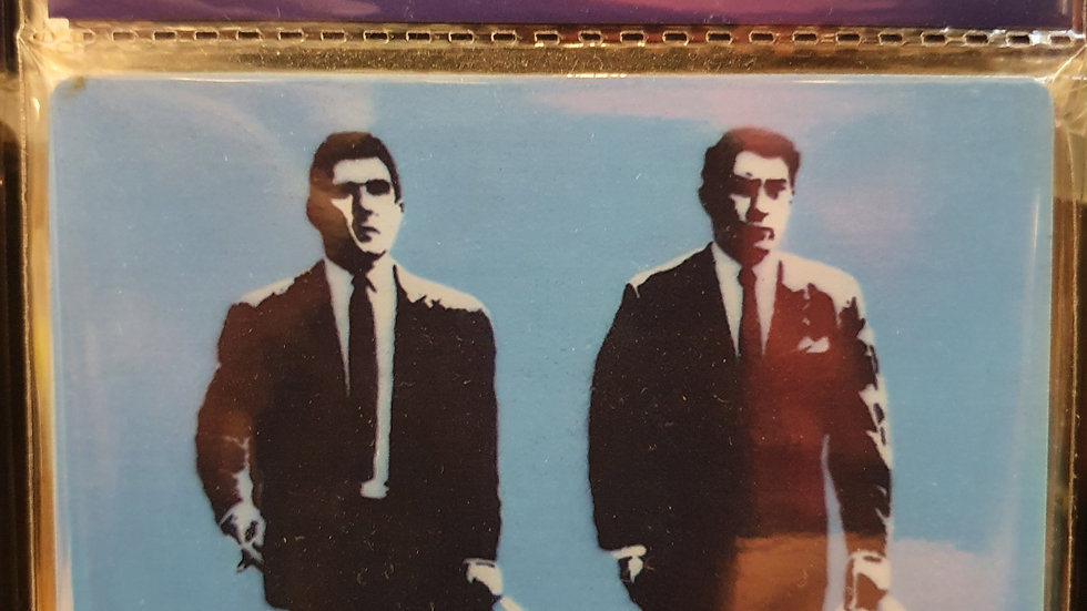 Banksy Wooden Coaster The Krays