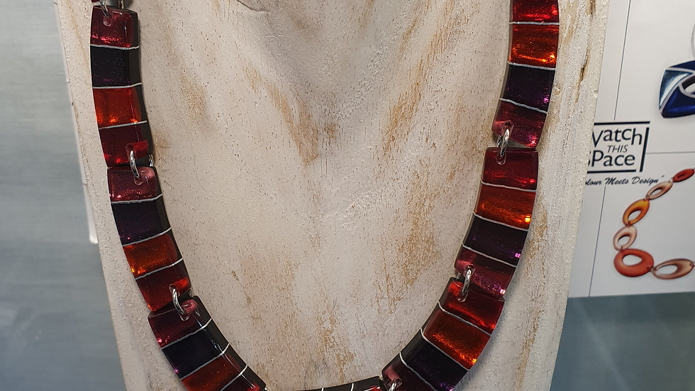 Watch This Space Aztec Necklace