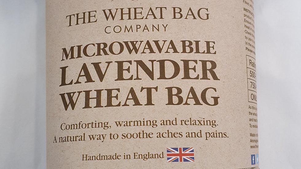 Microwavable Lavender Wheat Bag Lavender