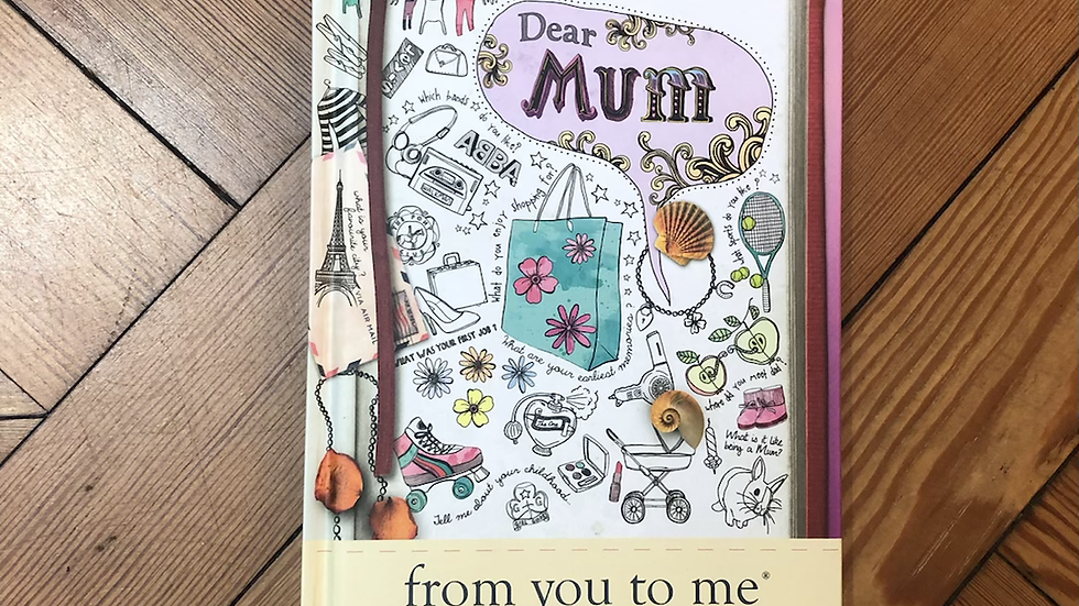Journal Of A Lifetime Mum