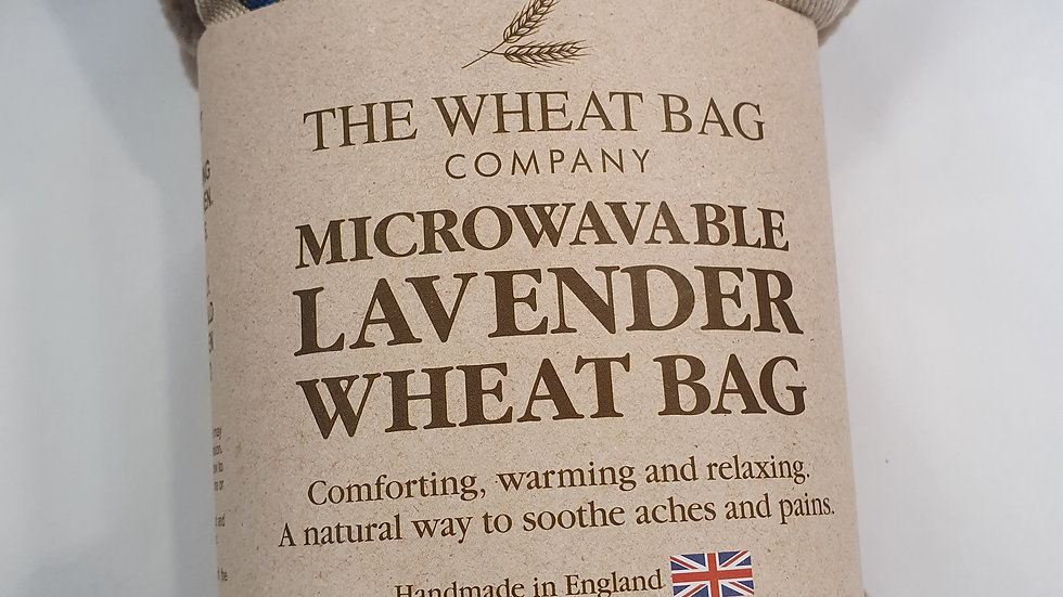 Microwavable Lavender Wheat Bag Butterfly