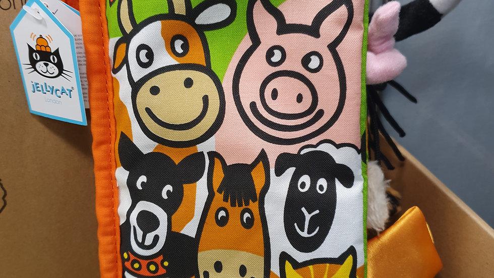 Jellycat Farm Tails Fabric Book