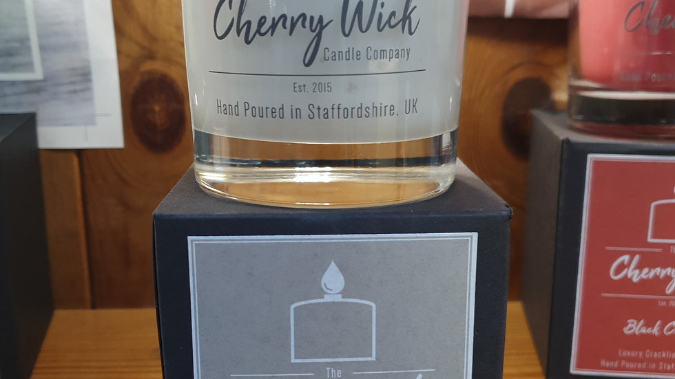 Cherry Wick Candle Mocha 30cl