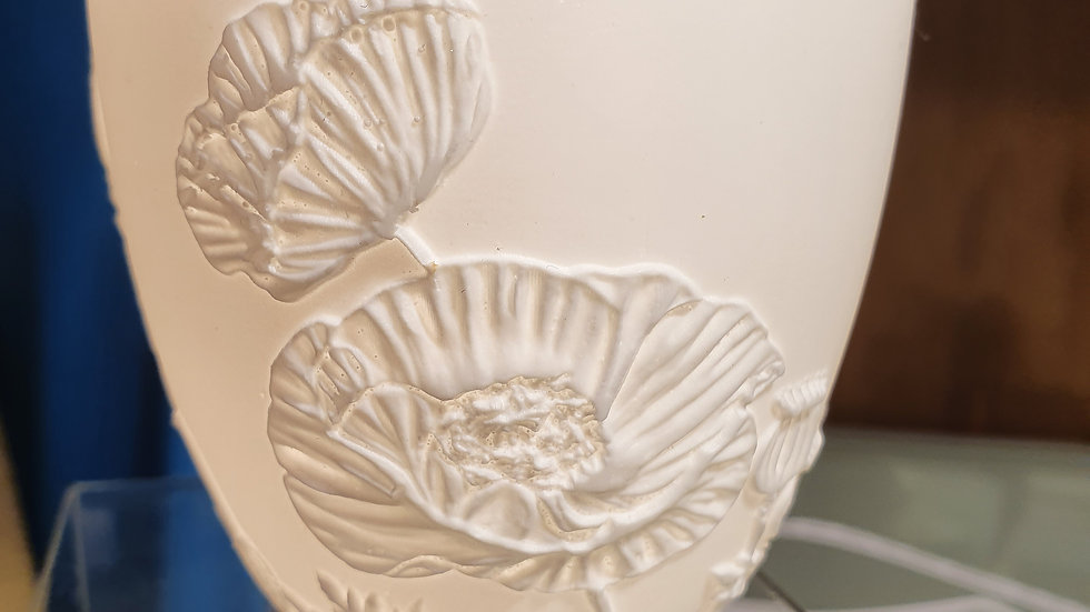 LightGlow Porcelain Votive Poppies