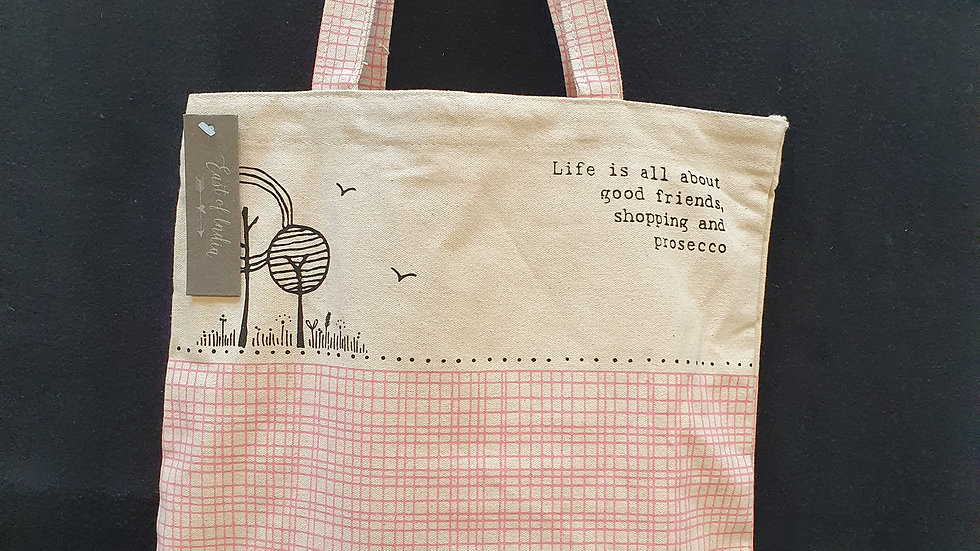 Tote Bag Life Is All About Good Friends