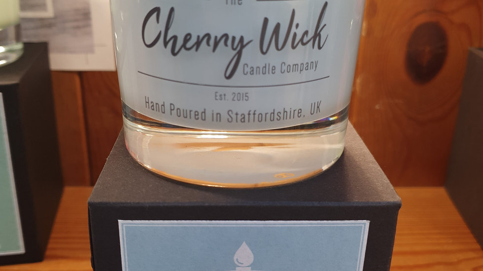 Cherry Wick Candle Sweet Pea 30cl